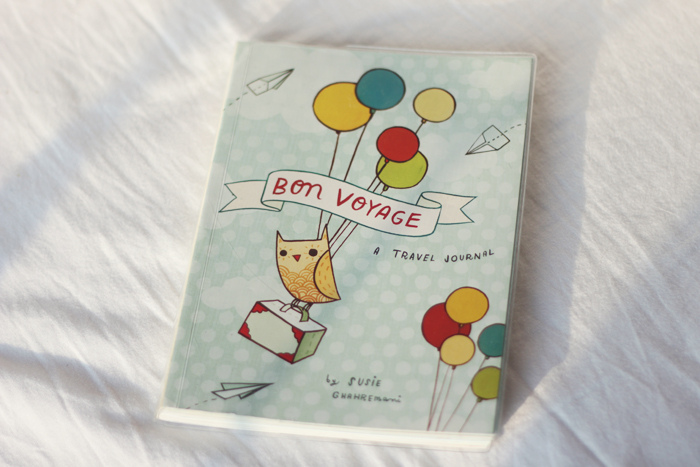 Read Review: Bon Voyage, A Travel Journal by April