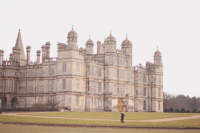 Read A Walk At Burghley by April