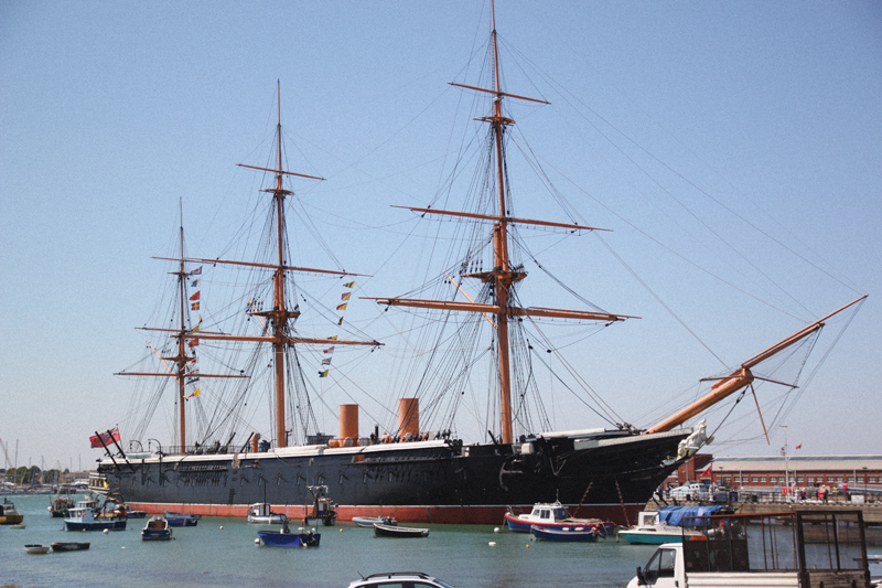 Read Portsmouth Historic Dockyard by April