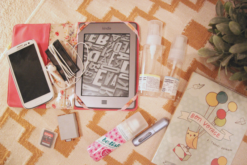 Read My Travel Essentials by April