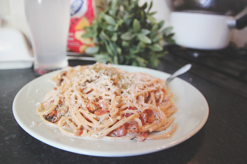 Read Recipe: Spaghetti Carbonara by April