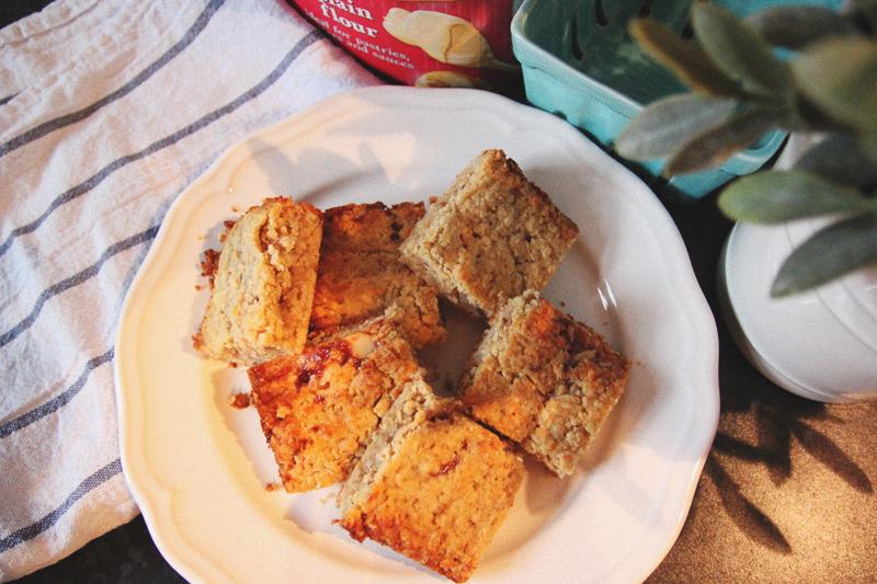Read Recipe: Bakewell Tart Flapjacks by April