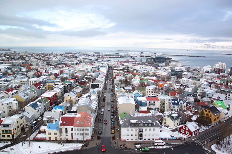 Read Wandering the Streets of Reykjavik, Iceland by April