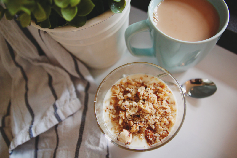 Read Recipe: Honey and Nut Breakfast Yogurt by April