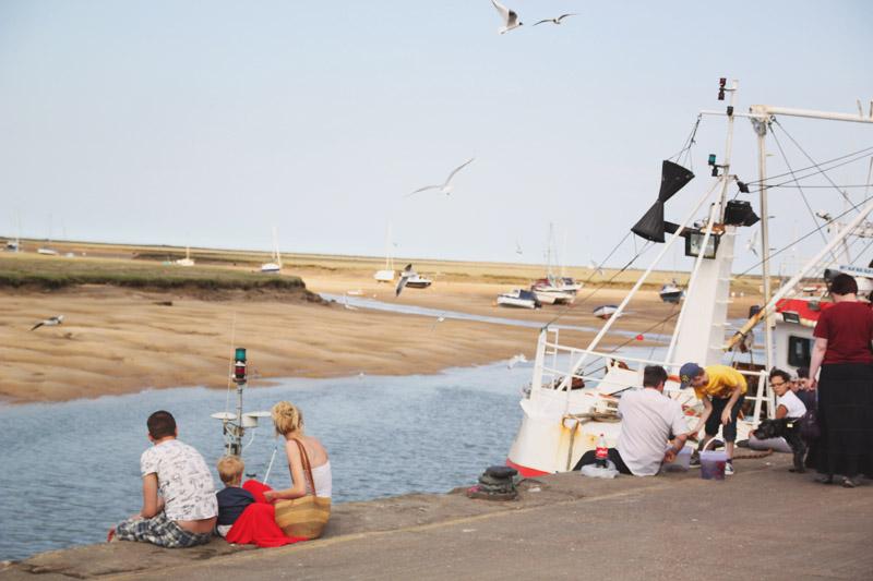 Wells-next-the-sea Harbour
