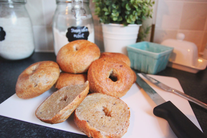 Read Recipe: Red Onion & Chive Bagels by April