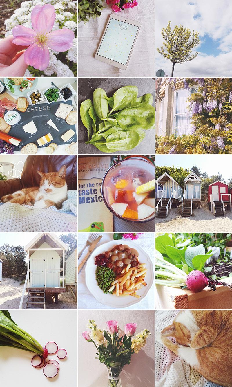 April Everyday Instagram