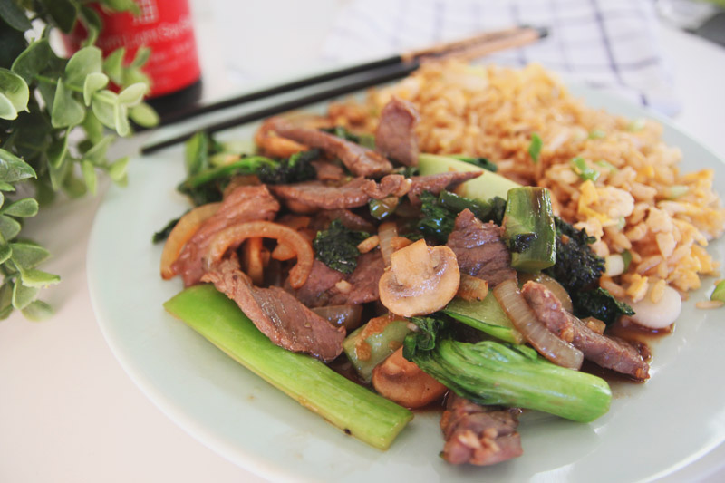 Read Recipe: Chinese Style Beef with Broccoli by April