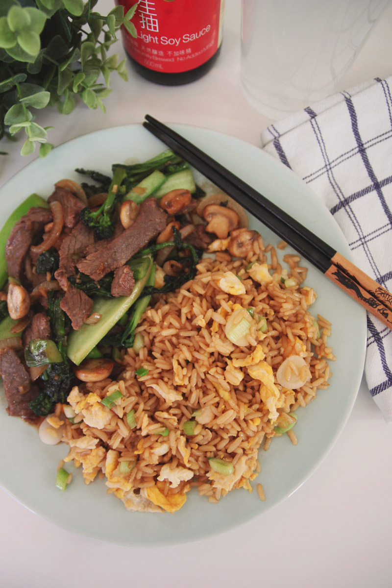 Chinese Style Beef with Broccoli