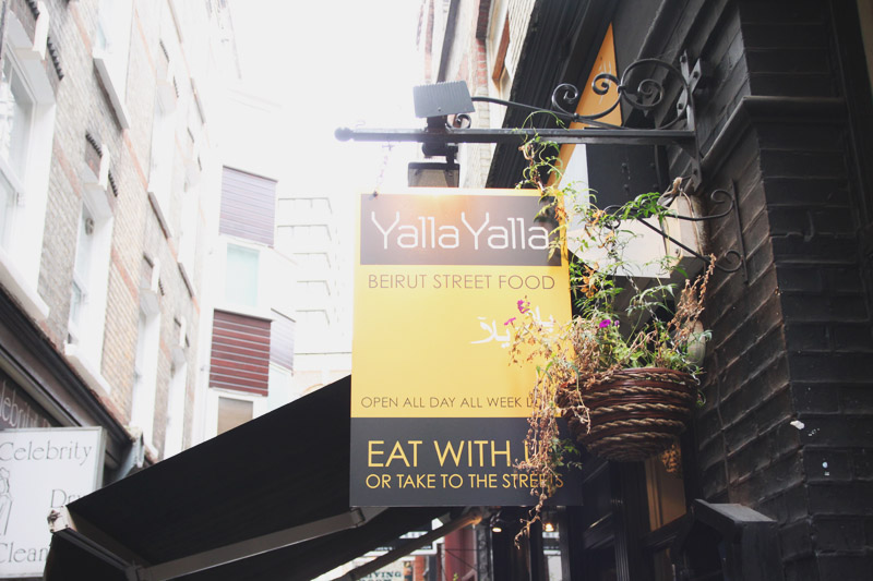Read Where To Eat: Yalla Yalla by April