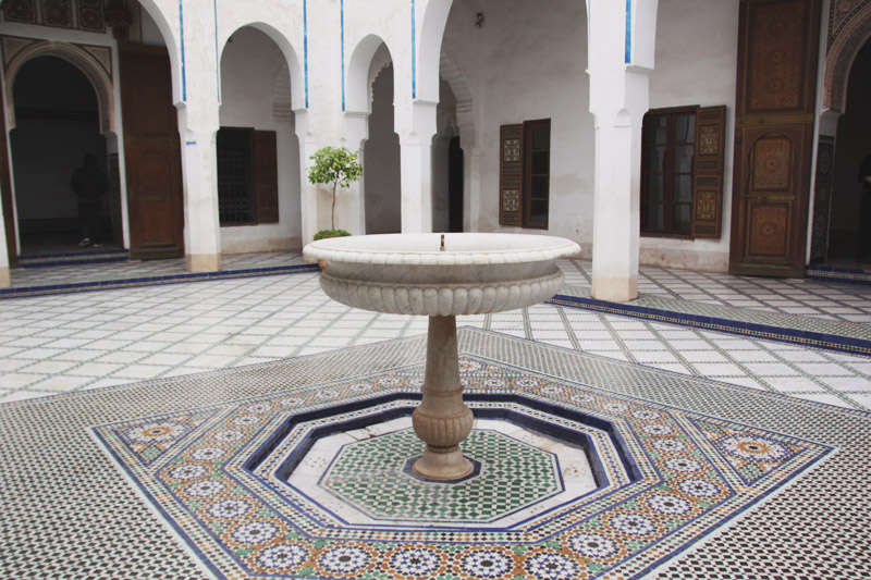 Read Exploring the Bahia Palace & Saadian Tombs of Marrakech by April