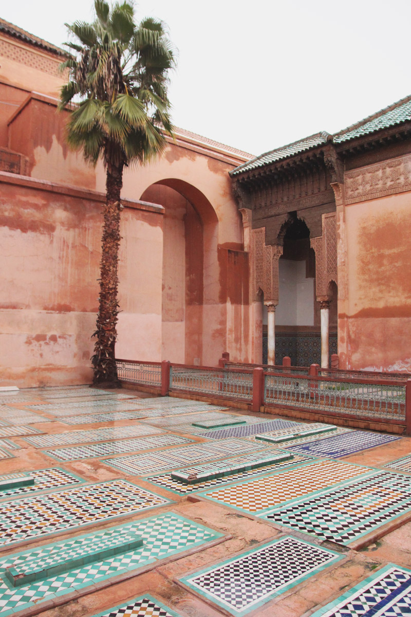 Saadian Tombs, Marrakech