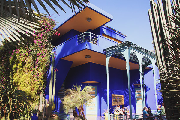 Read Exploring the Gardens of Jardin Majorelle, Marrakech by April