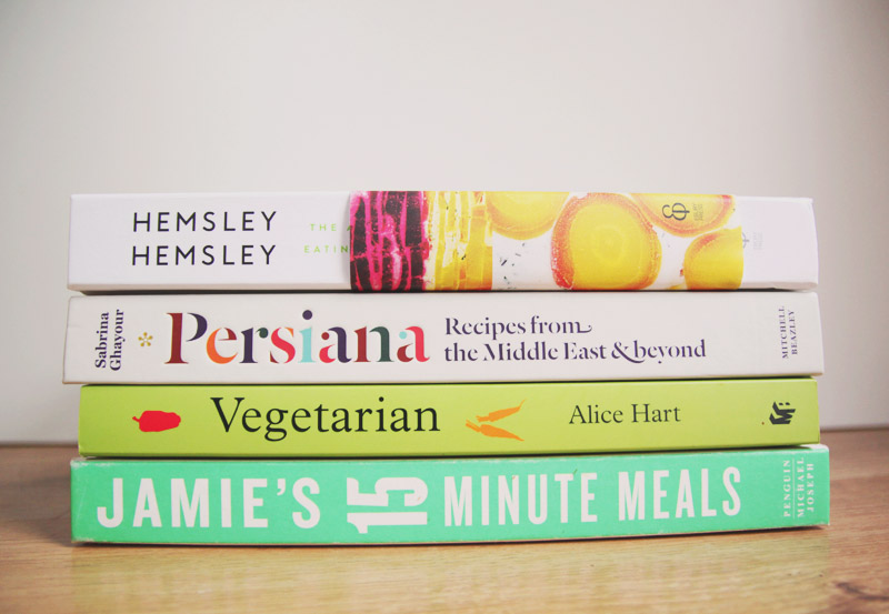 Read My Favourite Recipe Books by April