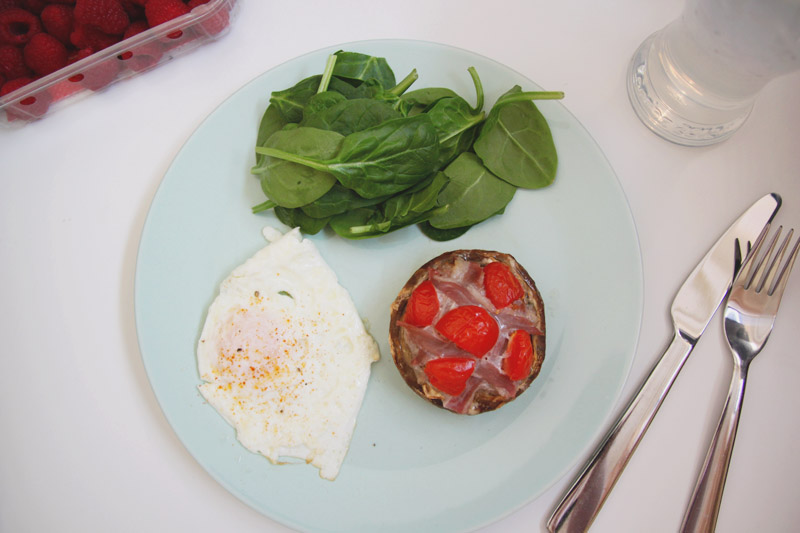 Read Recipe: Stuffed 'Breakfast' Mushrooms by April