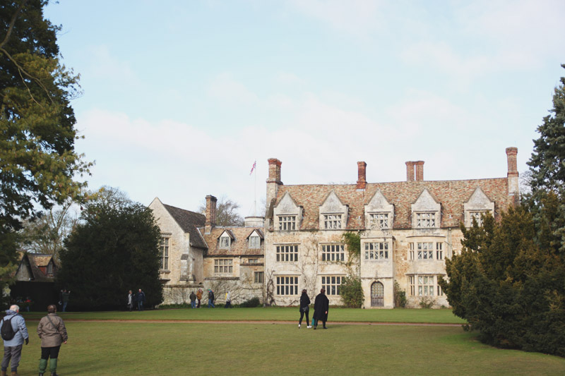 Read A Winter Walk at Anglesey Abbey by April