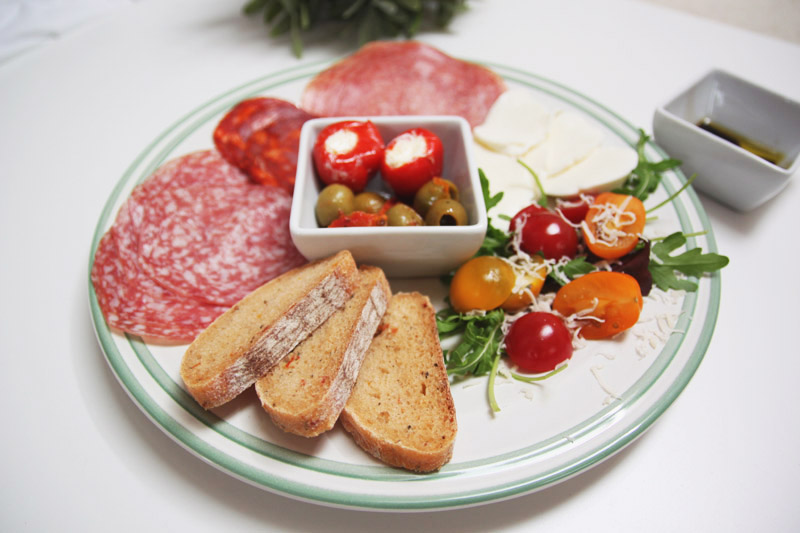 Read Our Perfect Anitpasti Platter by April