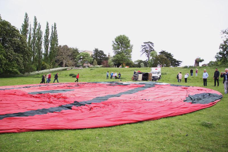 Ladybird Hot Air Balloon