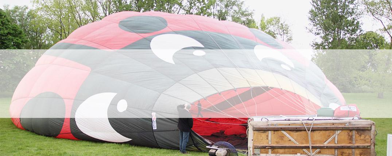 Slider Banner Template Balloon Flight