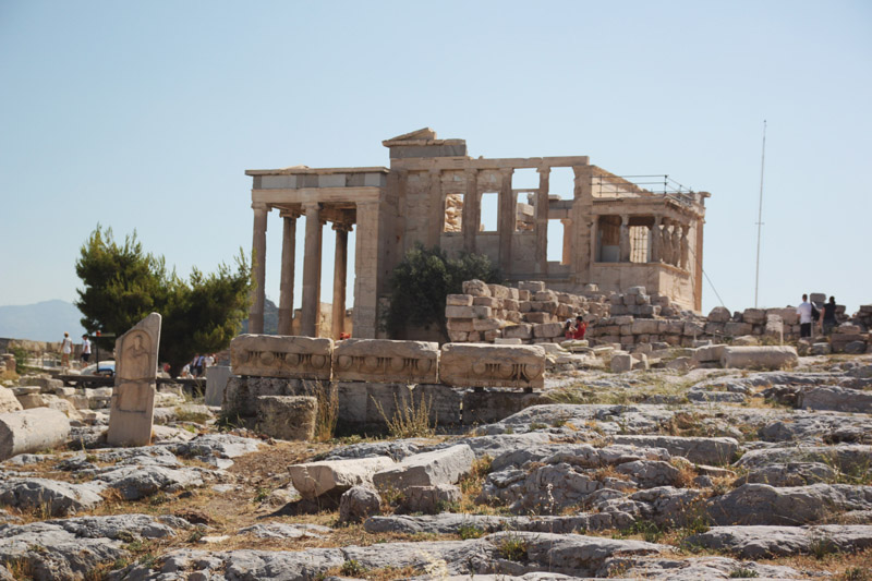 Read Visiting the Acropolis in Athens & visiting Cape Sounion by April