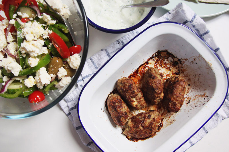 Read Recipe: Greek Style Lamb Kofta by April
