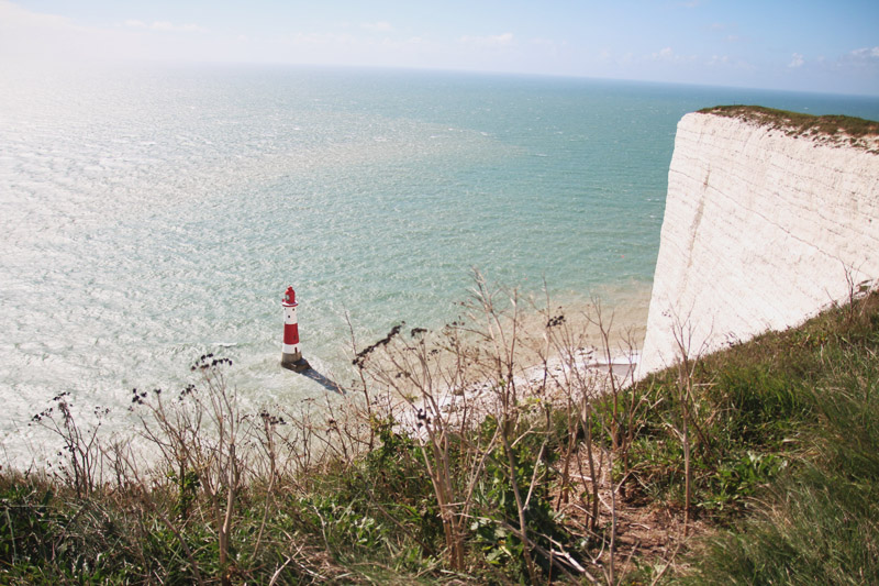 Read Beachy Head Lighthouse by April