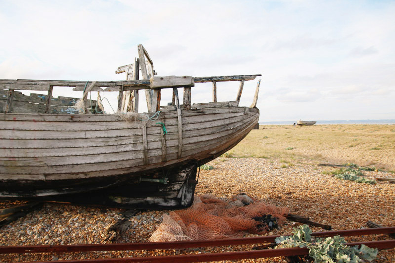 Dungeness Nature Reserve, Boat