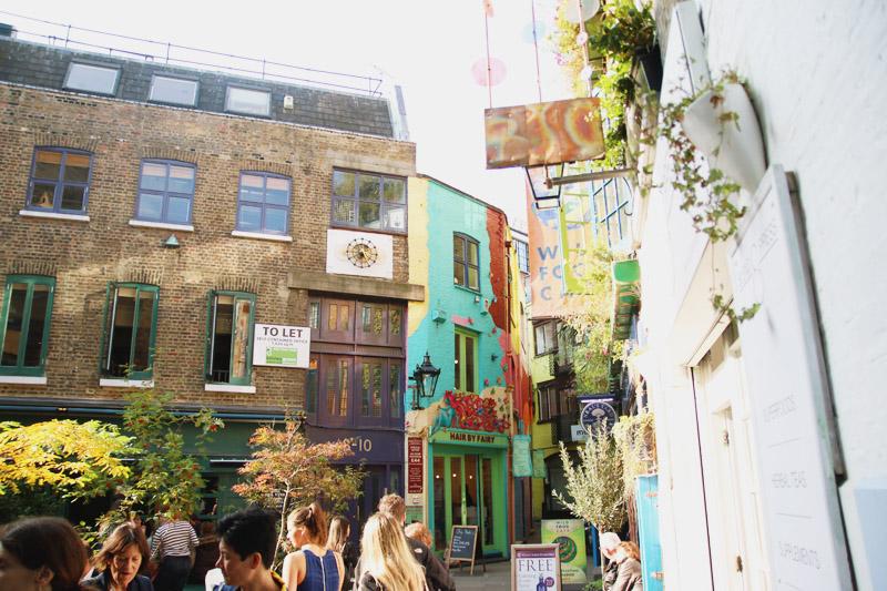 Neals Yard, Covent Garden, London