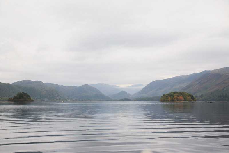 Hiring a boat on Derwentwater - The Lake District