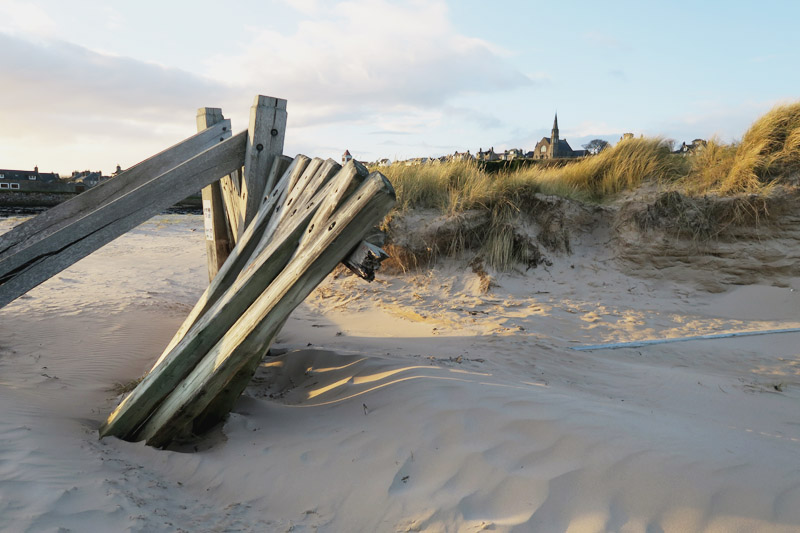 Read Lossiemouth Beach by April