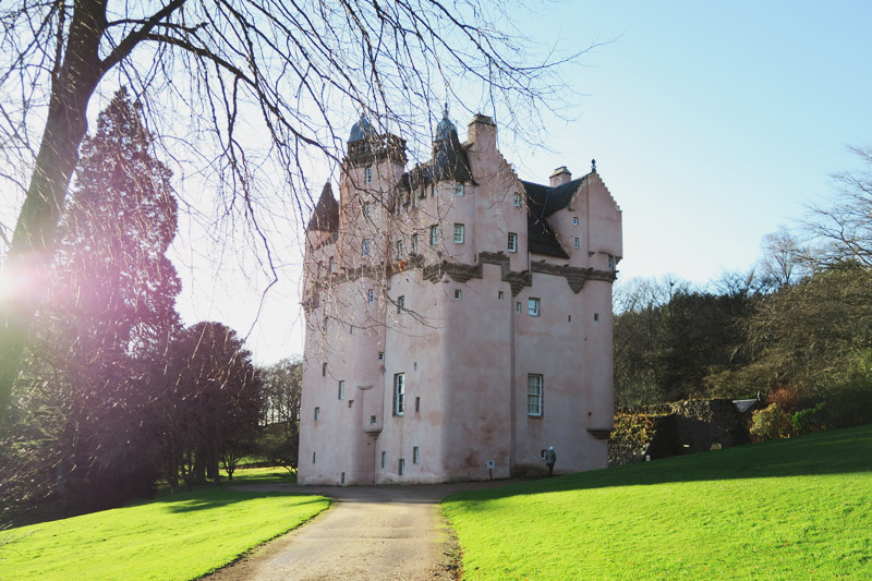 Read Craigievar Castle by April