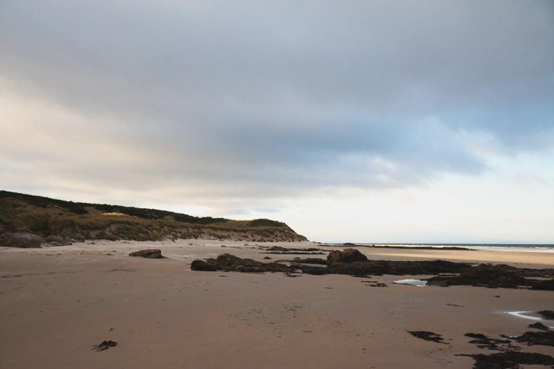 Covesea Lighthouse and Beach