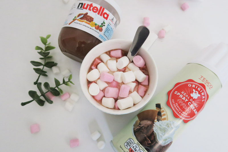Read Recipe: Nutella Hot Chocolate by April