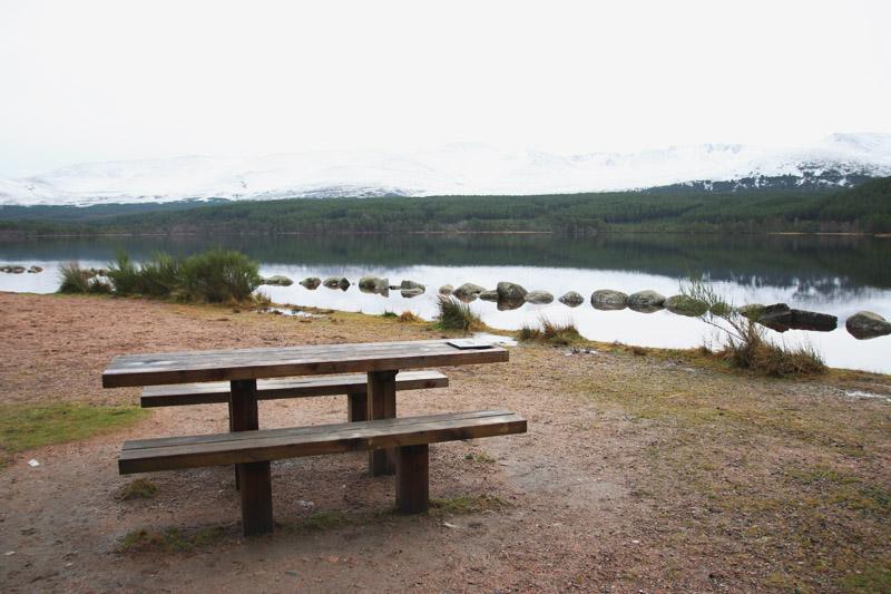 Loch Morlich, Christmas Day - Aviemore