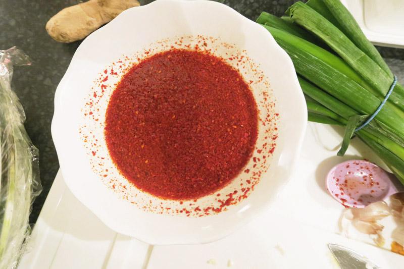 Homemade Kimchi Recipe