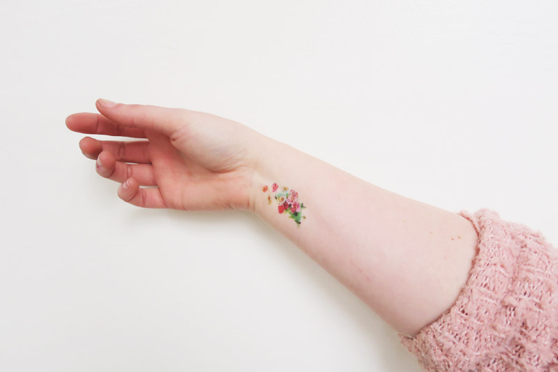 Read Trying Out Temporary Tattoos by April