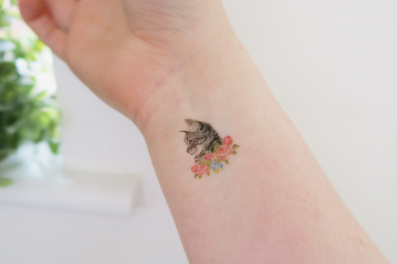 Siideways Temporary Cat Tattoos