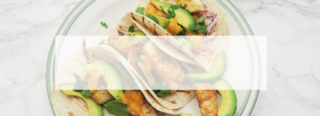 Slider Banner Template Fish Tacos