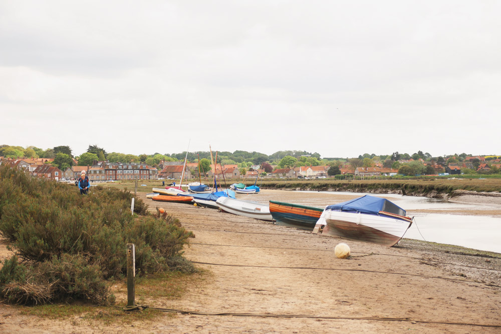 Read Blakeney Quay & Nature Reserve by April