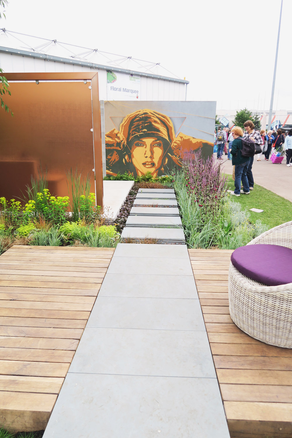 Gardeners World Live 2016 Show Gardens - The Man Garden