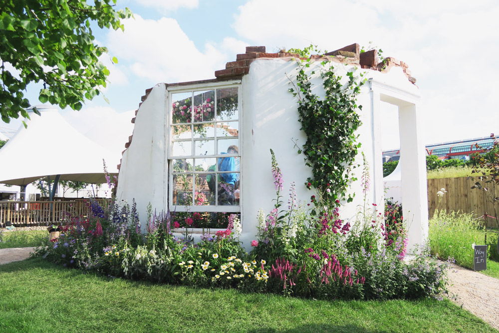 Gardeners World Live 2016 Show Gardens - Capability Browns Tea Party