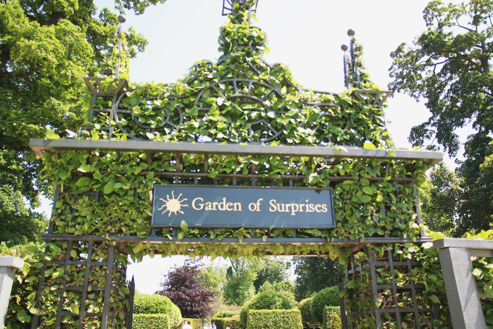 Burghley House Gardens of Suprise