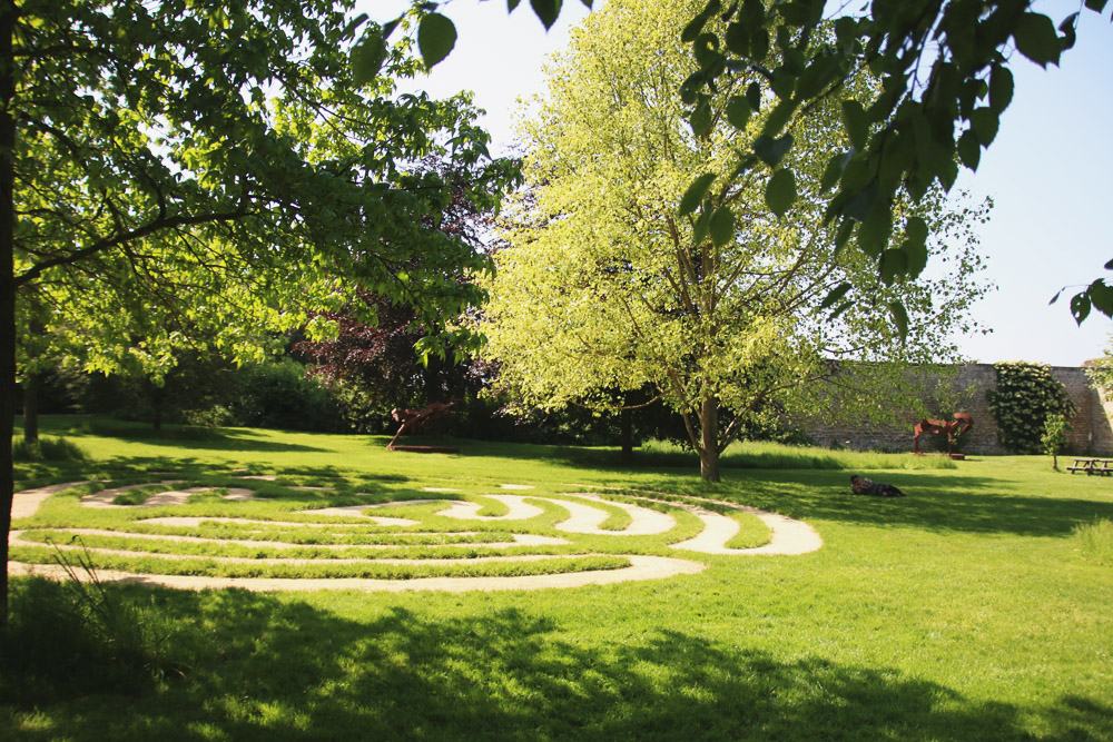 Burghley House Sculpture Gardens