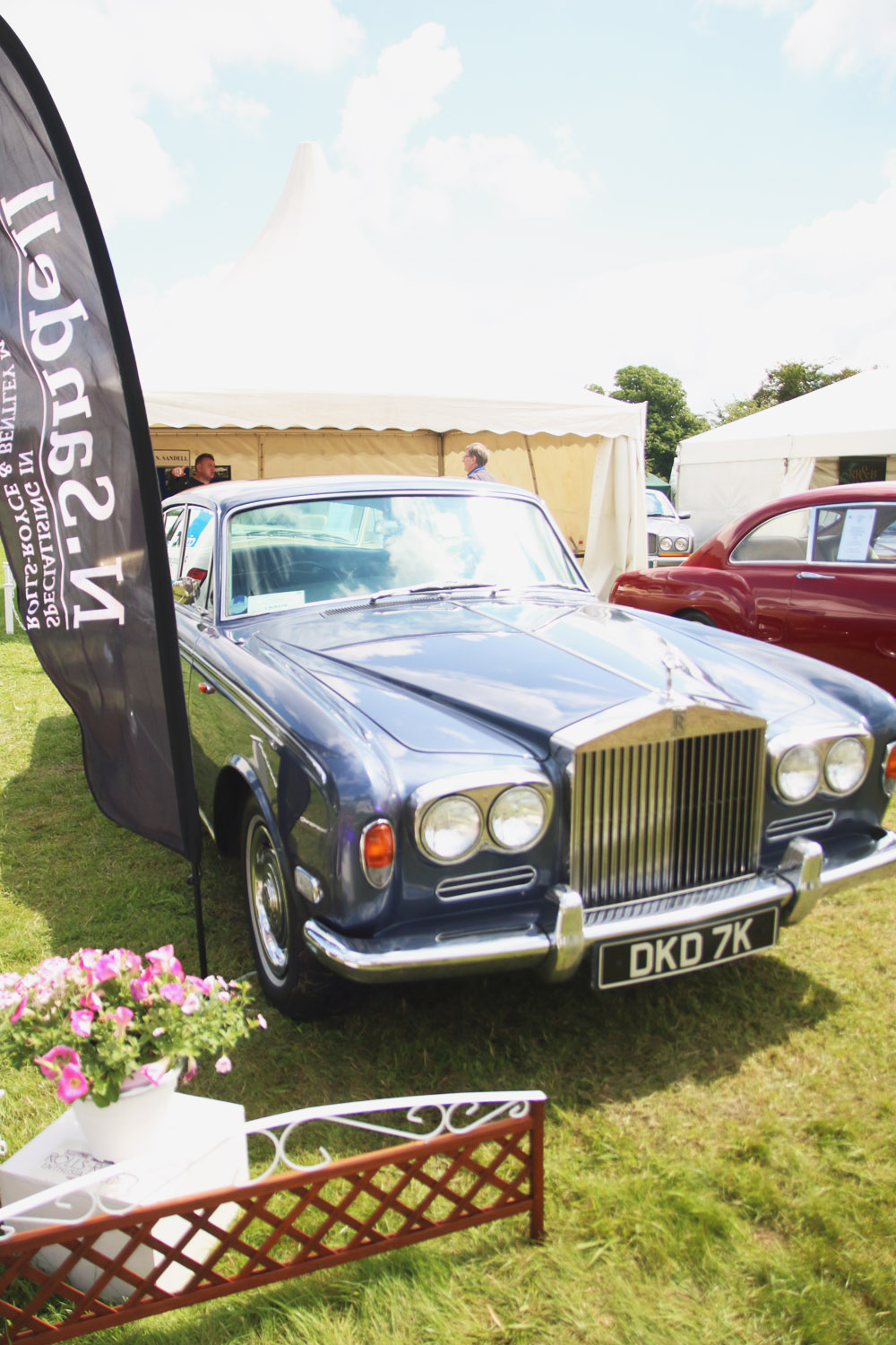 Burghley Rolls Royce Rally