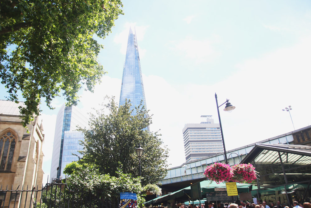 The Shard @ Borough Market, London