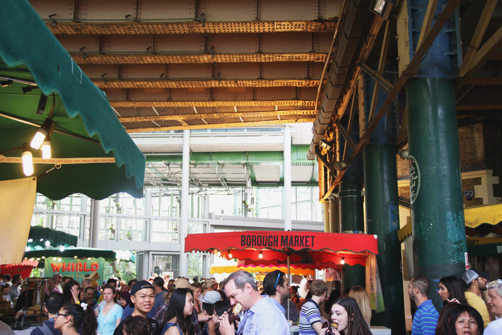 Read Exploring Borough Market by April