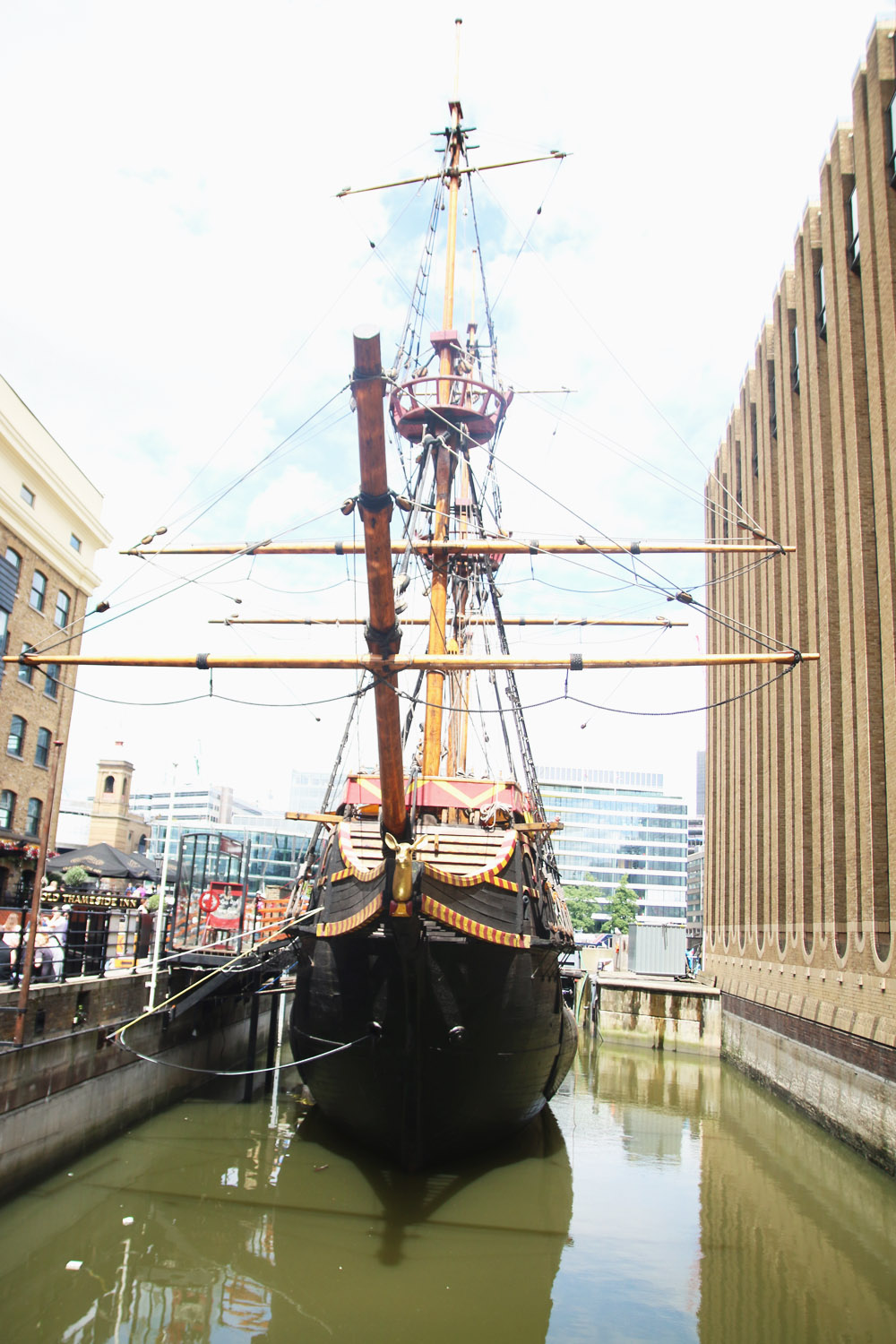 Golden Hinde II, Southwark, London