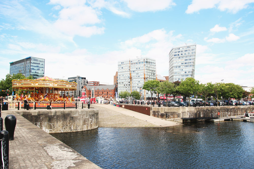 Read Exploring Albert Dock, Liverpool by April