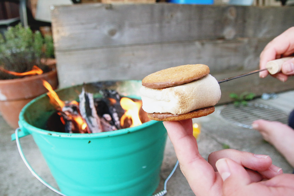 English Digestive Biscuit Smores