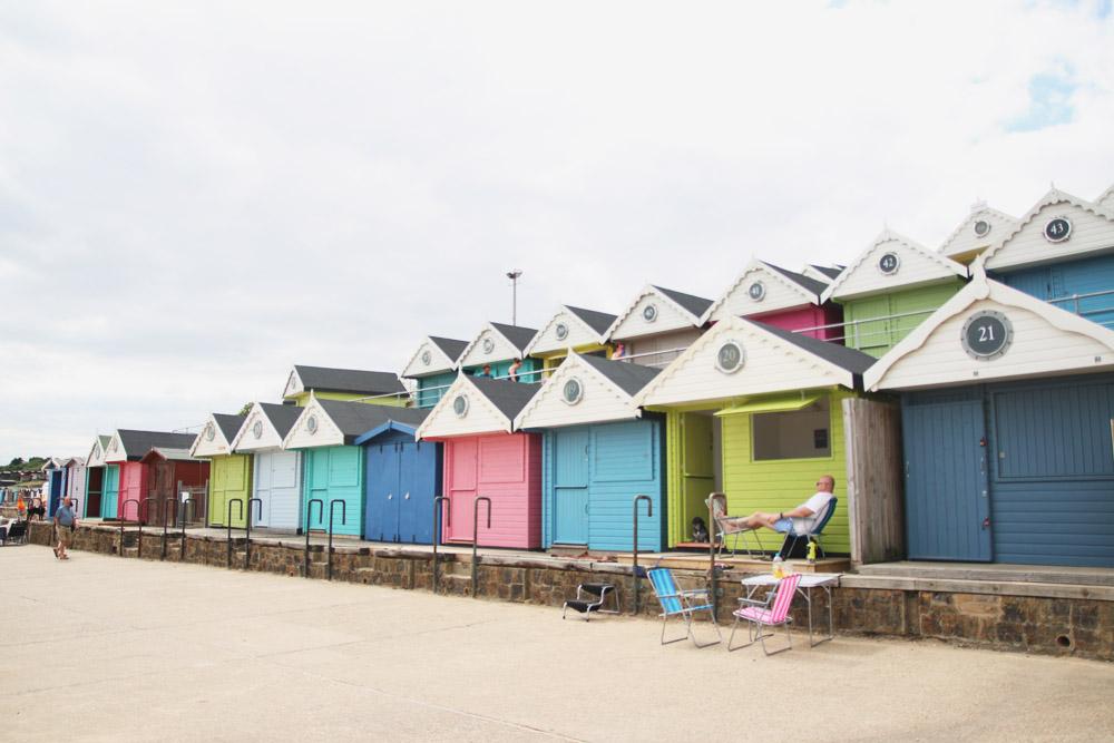 Walton-on-the-Naze Beach Huts, Essex